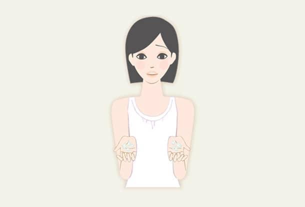 手の平多汗症治療の図